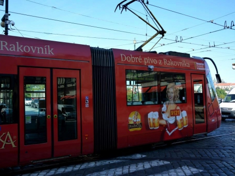 Novinka v pražských tramvajích, foto: Praha Press
