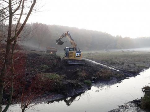 Některé rybníky v Praze se opravují, foto: MHMP
