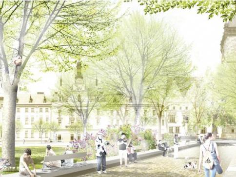 Karlovo náměstí čeká velká proměna, foto: MHMP