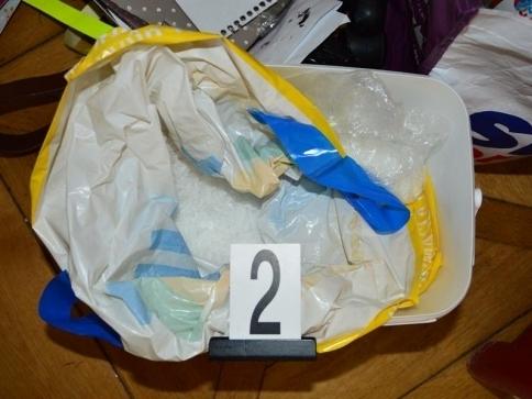 Celníci odhalili nelegální obchod s červeným fosforem, foto: Generální ředitelství cel