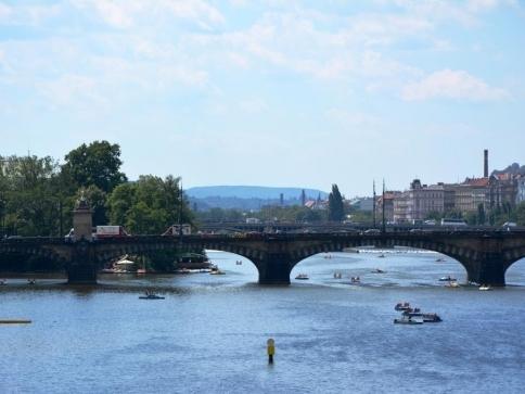 Zajištění bezpečnosti mostů v České republice, foto: Praha Press