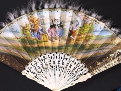 Vyzvání k tanci – taneční pořádky a vějíře druhé poloviny 19. století, foto: Muzeum hlavního města Prahy