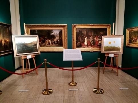 Pražský hrad vystavuje zakoupené obrazy Kamila Lhotáka, foto: Správa Pražského hradu