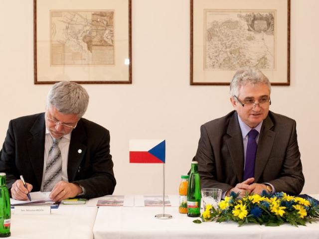 Předseda Senátu Milan Štěch, foto Senát
