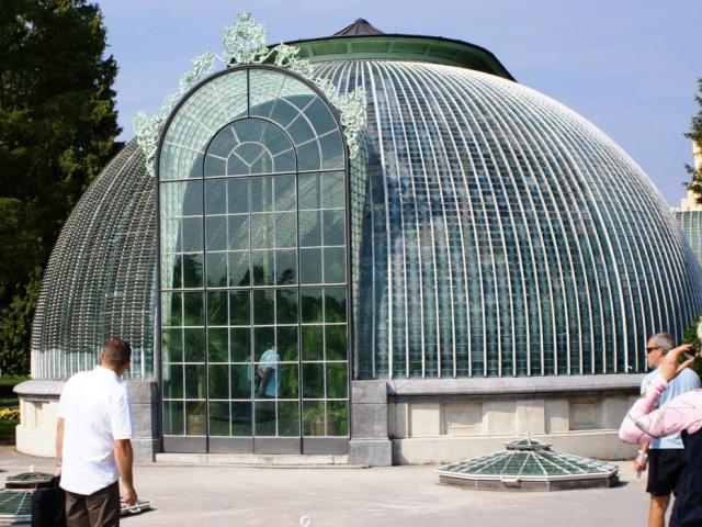 Jak se křišťálový palác změnil v zimní zahradu, foto Praha Press