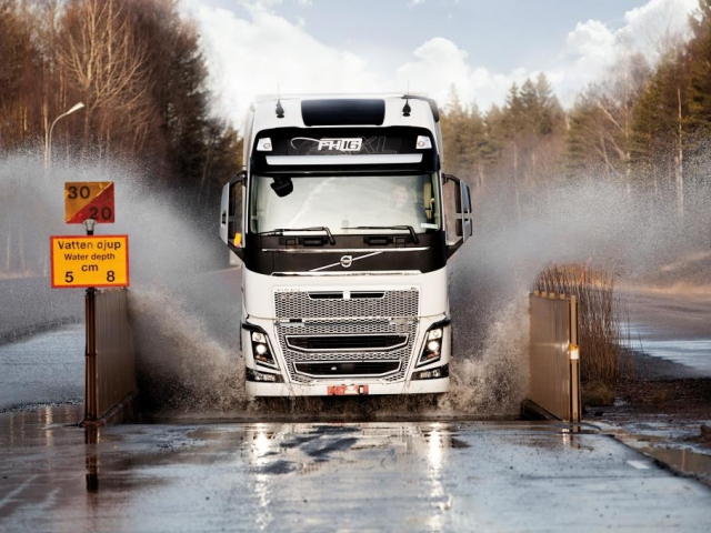 Drivers' Fuel Challenge 2014, foto: VOLVO TRUCKS Czech Republic