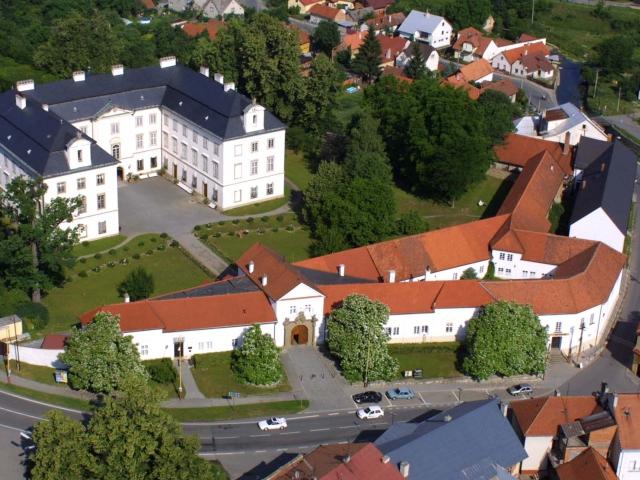 Kouzelná inspirace pro květinářky i všechny milovníky růží v historickém prostředí zámku Vizovice, foto NPÚ