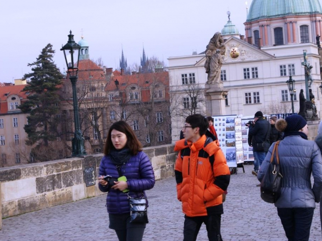 Ruských turistů v Česku zatím neubývá. Jihokorejských turistů přijelo historicky poprvé více než čínských, foto Praha Press