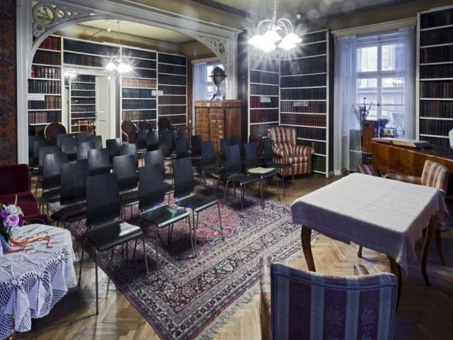Historický interiér Náprstkova muzea, foto Jiří Vaněk