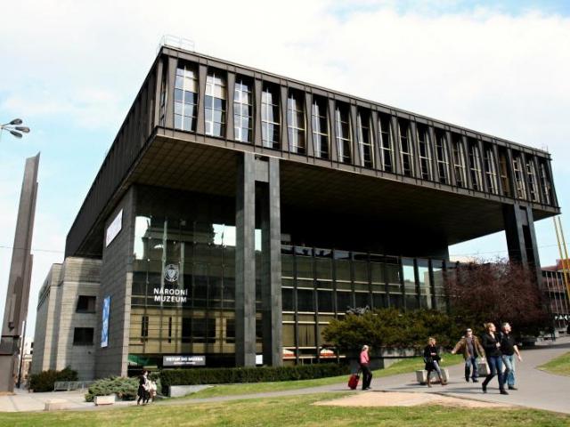 Nová budova Národního muzea v Praze, foto Národní muzeum