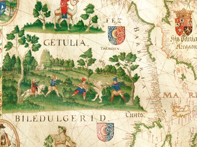 Výstava Poklady mapové sbírky, foto Přírodovědecká fakulta UK