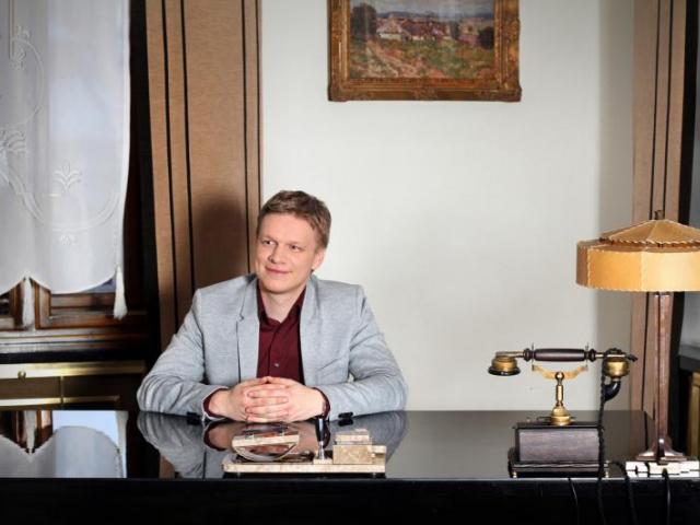 Tomáš Hudeček, foto Gabriela Cinková