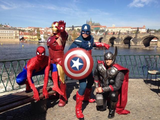 Centrum Černý Most připravilo na měsíc červen unikátní expozici s názvem Superhrdinové, foto Unibail-Rodamco