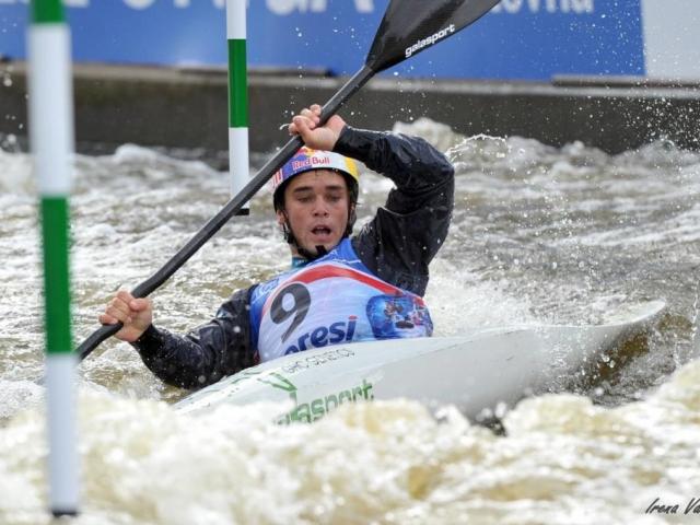 Praha Troja hostí Světový pohár ve vodním slalomu ICF World Cup 2014, foto Irena Vanisova