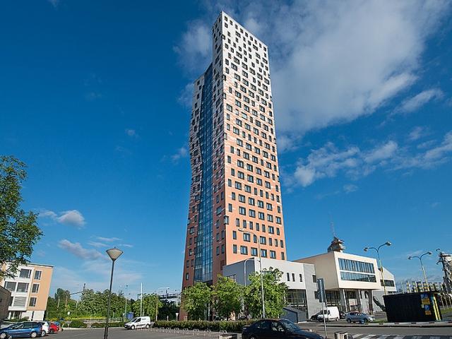 Mimořádné mezinárodní ocenění Emporis Skyscraper Award 2013 pro AZ TOWER v Brně, foto PSJ, a.s.