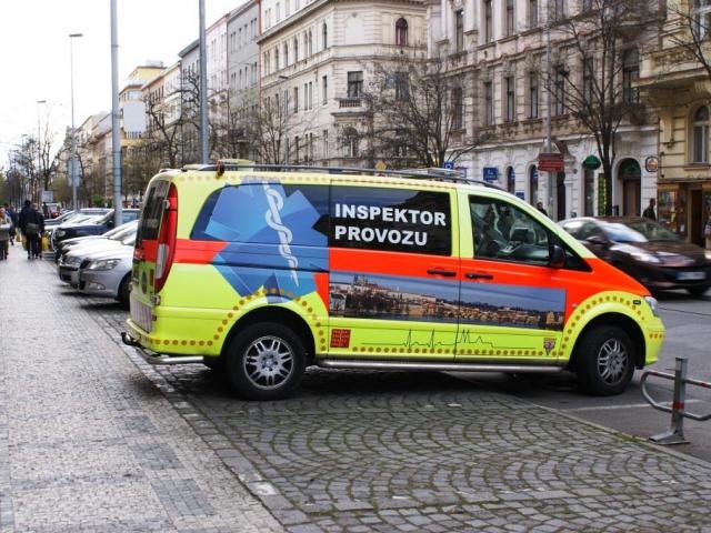 V Praze jde stále o život, přitom Záchranná služba Praha bojuje do posledních sil, foto Praha Press