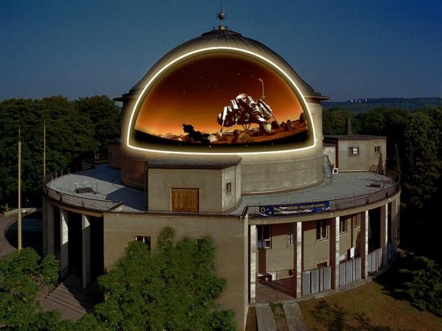 Planetárium Praha by chtělo motivovat pedagogy a žáky škol k vyššímu zájmu o technické vědění, foto Planetárium Praha