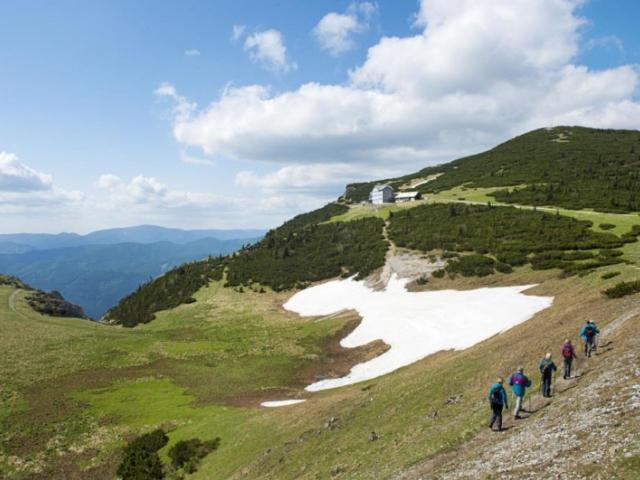 Aktivní léto v horách v Dolním Rakousku © Niederösterreich Werbung / Robert Herbst