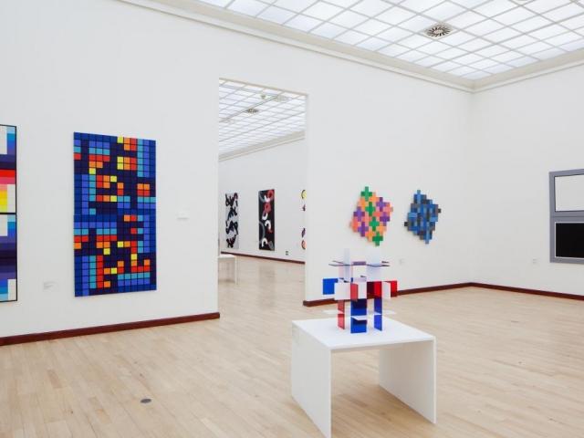 Mimořádně vstup zdarma 2. a 3. srpna na výstavu Jan Kubíček: Retrospektiva, pohled do expozice, foto Tomáš Souček
