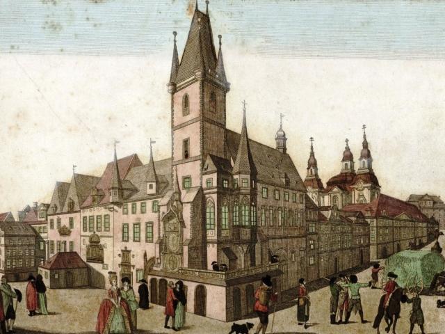 Město otevírá výstavu k výročí vzniku Královského hlavního města Prahy, foto Archiv hlavního města Prahy