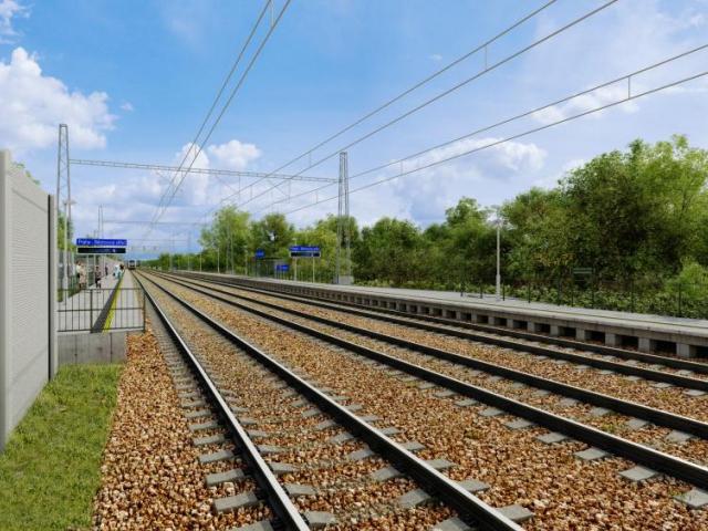 V Běchovicích dnes začíná stavba nové železniční zastávky, foto Magistrát hlavního města Prahy