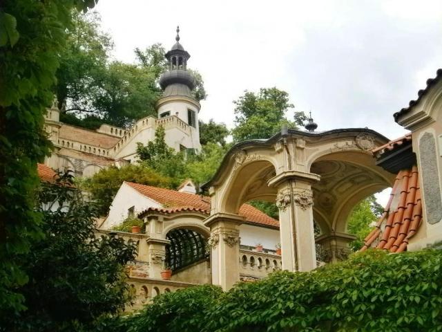 Pohled na Malou Fürstenberskou zahradu, foto NPÚ