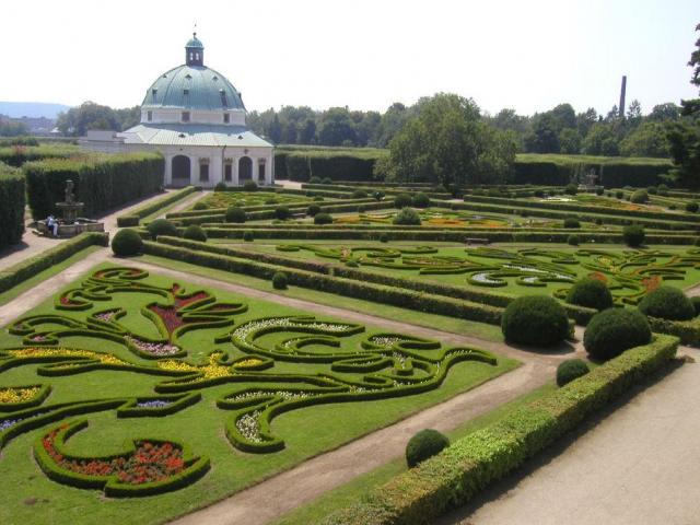 Květná zahrada v Kroměříži, foto Mgr. Pavel Zrna