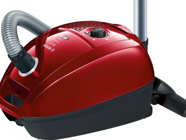 Nový sáčkový vysavač Bosch BGL3A234,  který splňuje normy nového evropského energetického štítku, foto BSH domácí spotřebiče s.r.o.