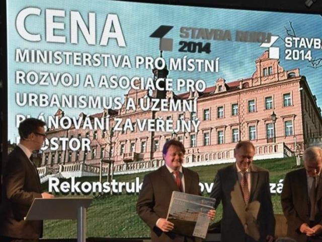 Praha 10 získala ocenění Stavba roku za rekonstrukci Vršovického zámečku, foto ÚMČ Praha 10