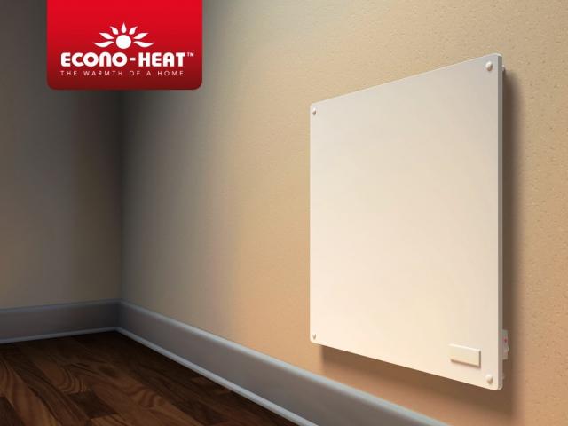 Úsporný systém vytápění, výhody topných panelů ECONO-HEAT, foto ECONOHEAT, heatingdirect.co