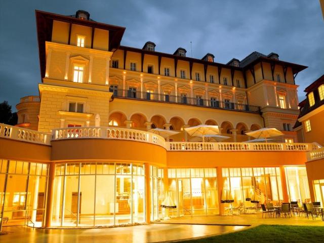 Podzimní wellness pro firemní klientelu, Grand Spa Hotel Marienbad, foto Grand Spa Hotel Marienbad