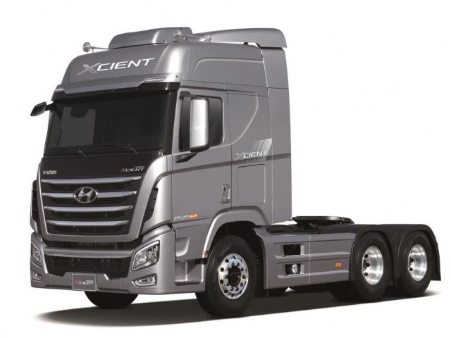 Hyundai Motor vystavuje na IAA těžké užitkové vozidlo Xcient, foto Hyundai Motor Czech s.r.o.