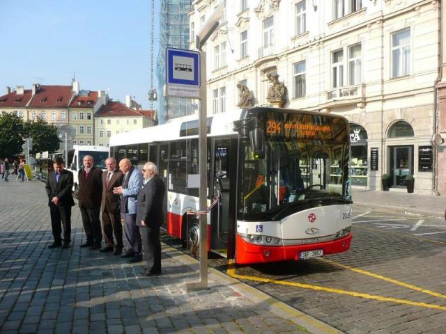 Nová autobusová linka propojila pravý a levý břeh Vltavy, foto Magistrát hlavního města Prahy