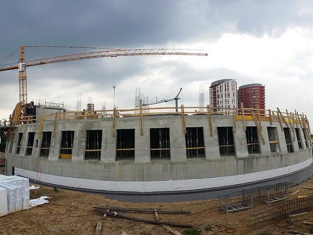 Nový Centrální depozitář Uměleckoprůmyslového muzea zaujme kruhovým půdorysem, foto PSJ a.s.