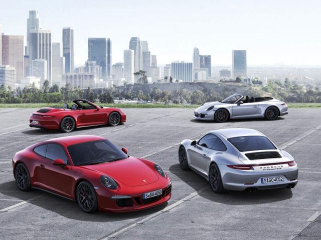 Čtyři nové špičkové modely pro modelovou řadu 911 Carrera, foto Porsche Inter Auto CZ