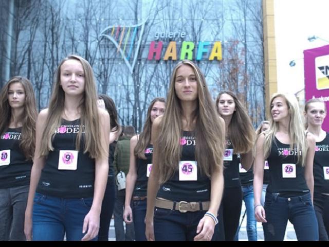 Galerie Harfa bude plná krásných dívek, foto Galerie Harfa ONYX GROUP