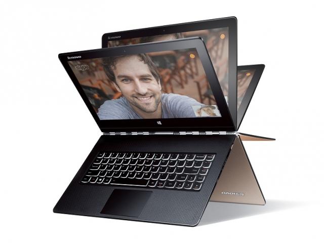 Luxusní notebook Lenovo YOGA 3 Pro se přizpůsobí svým uživatelům, foto Lenovo