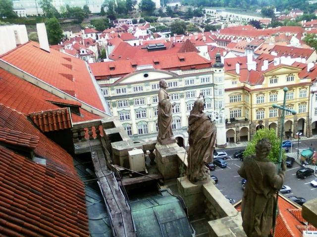 25 LET POTÉ - den vstupu zdarma na Svatomikulášskou městskou zvonici dne 17. listopadu, foto Prague City Tourism