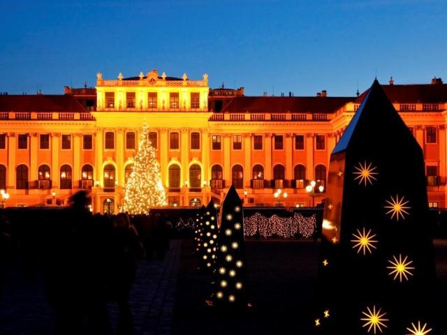 Vánoční trh u zámku Schönbrunn, foto MTS - Marketing Tourismus Synergie Wien GmbH