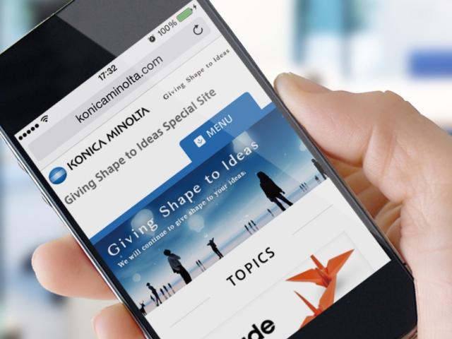 Konica Minolta zjednodušuje tisk z mobilních zařízení, foto Konica Minolta