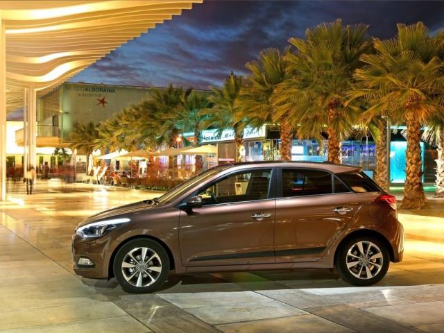 Hyundai i20 nové generace, vůz s nejbohatší výbavou v segmentu B, vstupuje na český trh, foto Hyundai Motor Company