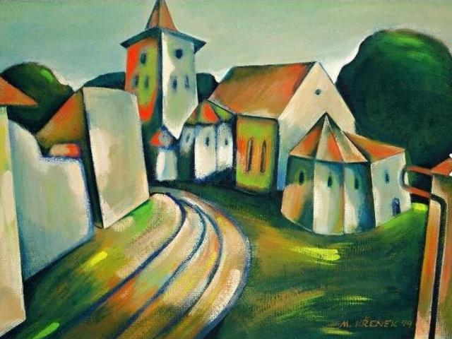V lednu začne výstava Milana Křenka v Galerii 14, foto ÚMČ Praha 14