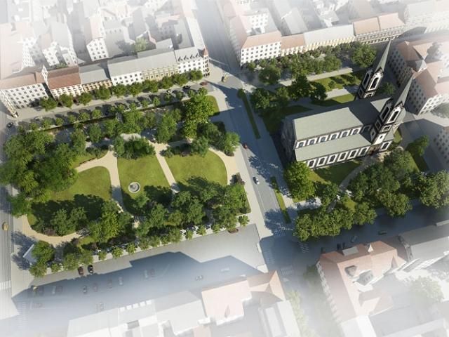 Zastupitelstvo Prahy 8 schválilo revitalizaci Karlínského náměstí, foto ÚMČ Praha 8