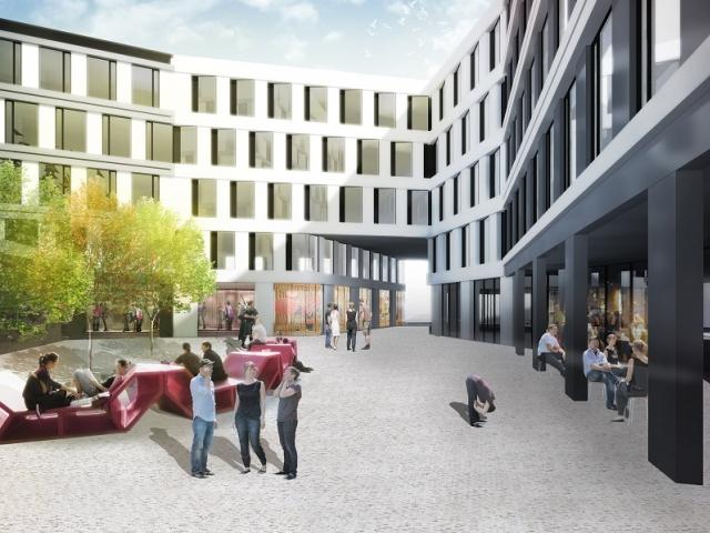 Realitní skupina CPI Property Group představila vítězný projekt na multifunkční komplex v místě stávajícího královehradeckého hotelu Černigov, foto CPI PROPERTY GROUP