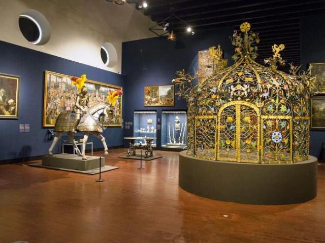 Výstava Hrady a zámky objevované a opěvované, foto NPÚ