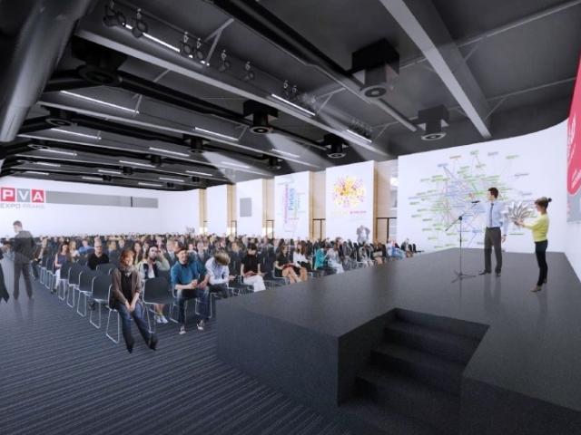 Areál PVA EXPO PRAHA se rozrůstá o Kongresový sál, foto ABF, a.s.