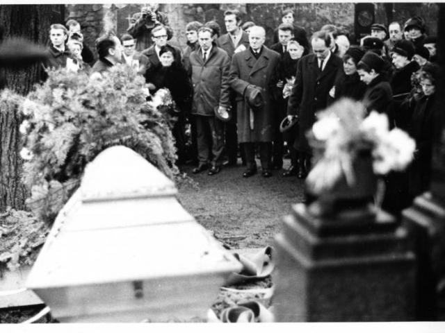 Pohřeb Jana Palacha, foto Národní muzeum
