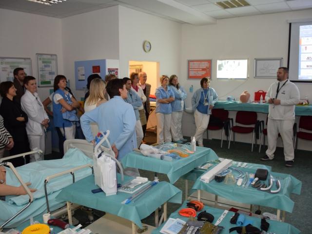 Ústřední vojenská nemocnice zavedla tolik potřebnou výuku na záchranu lidských životů, foto ÚVN