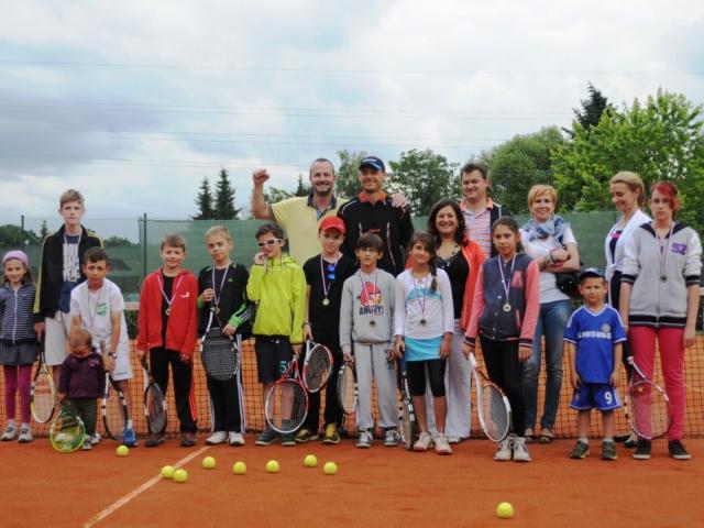 Tenisová škola v Oáze Říčany je určena dětem ve věku 4 až 12 let. Foto Oáza Říčany