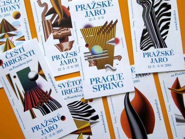 Do finále Cen Czech Grand Design v kategorii Grafický designér roku postopuil také: ReDesign - Pražské jaro 2014, foto Akademie designu ČR Czech Grand Design